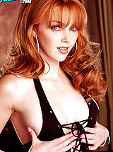 Babes Babes: Marie McCray is an adorable carrot top with milky skin and a nasty demeanor!