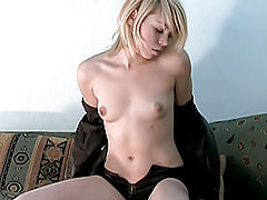 Pussy Video, Stunning Nubile stimulates her clit with a vibrator