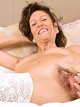 Wet Snatch, Mature milf India loves playing with her pussy with a pink dildo until she explodes in orgasm