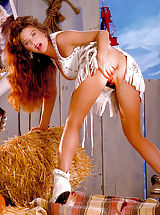 She's a southern belle who wants to honky tonk with your ding dong, shot 5/10/90.