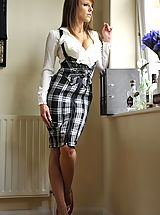 St. Mackenzies Pics: Secretaries in High Heels Headmistress Mackenzie 1 in July 2011