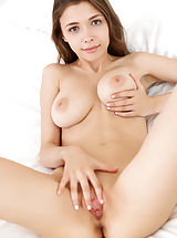 shaved pussy angels, Mila Azul