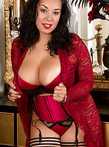 Anastasia_lux - Busty housewife teases her juicy pussy until she cums
