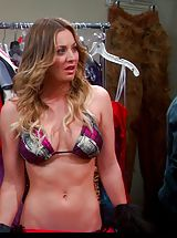 Celebrity Babes: Kaley Cuoco