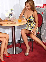 UpSkirts Babes: billy raise 02 drunken lesbos