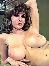 Joyce Gibson Aka Alexis Love - Big Busty Queen of the 70's Posing Fully Nude Hairy Cunt Is Visible Nice Hard Nipples