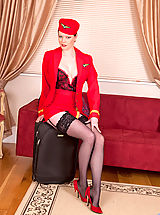 Secretary Pussy: Sophisticated red haired lady reveals her inner freak at Anilos