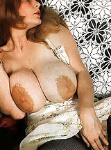 Hard Nipple Babes: Hot Naked 70's Chicks With Massive Unshaven Bushes And Big Tits Being Fucked