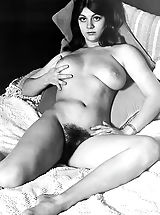 Vintage Pussy: Massively Hirsute Natural Women Expose Their Unshaven Classic Bodies