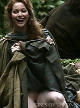 UpSkirts Babes: Game of Thrones Girls Upskirt Pussy Insights