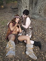 WoW nude franska and vera girls fight