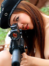 Naked Girl, Asian Women veranda wei 02 sexy army girl