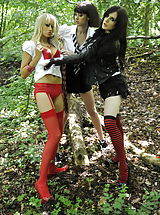 Outdoors Pics: Carole Hunt and Jen Bailey and Samantha Bentley 2