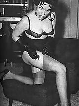 This Vintage Fetish Gallery If For The True Lovers Of Genuine Women Fetish Clothing