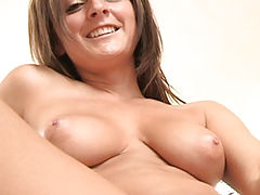 Sexy Babes, Melissa uses an empty beer bottle as a dildo