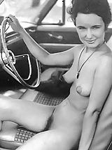 Vintage Babes: Shocking Naturist Photos That They Don't Show To Others but Keep For Themselves - Pussy Spreading In Naked Public