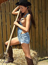 Jeans Pics: anastasia 02 cowgirl wet tshirt big pussy pics