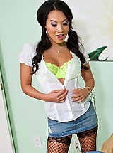Asian Pics: Asa Akira,American Daydreams,Johnny Castle, Asa Akira, College Girl, Friend, Student, Virgin, Bed, Bedroom, Asian, Butt licking, Butt smacking, Ball licking, Black Hair, Blow Job, Deepthroating, Facial, Fake Tits, Petite, Shaved, Stockings, Tattoos,