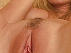 close up vagina videos, Alison Angelm plays with her new dildo