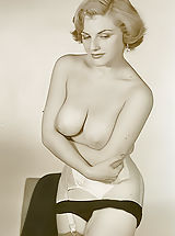 Old Time Erotica and Lewd Softcore Photos of 1940-1950s Showcasing Women with Pussies Uncovered and Ladies with Just Breasts