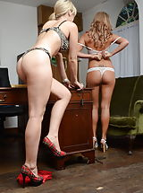 Blonde Babe, Candice Collyer and Natalia Forrest 2